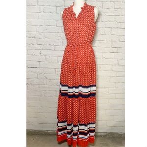 NWT Womens Charter Club tiered maxi dress